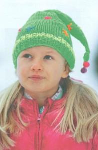 Детская шапочка со звездочками